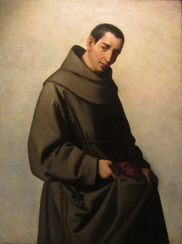 Portrait of San Diego de Alcalá by Francisco de Zurbarán (1651-1653)
